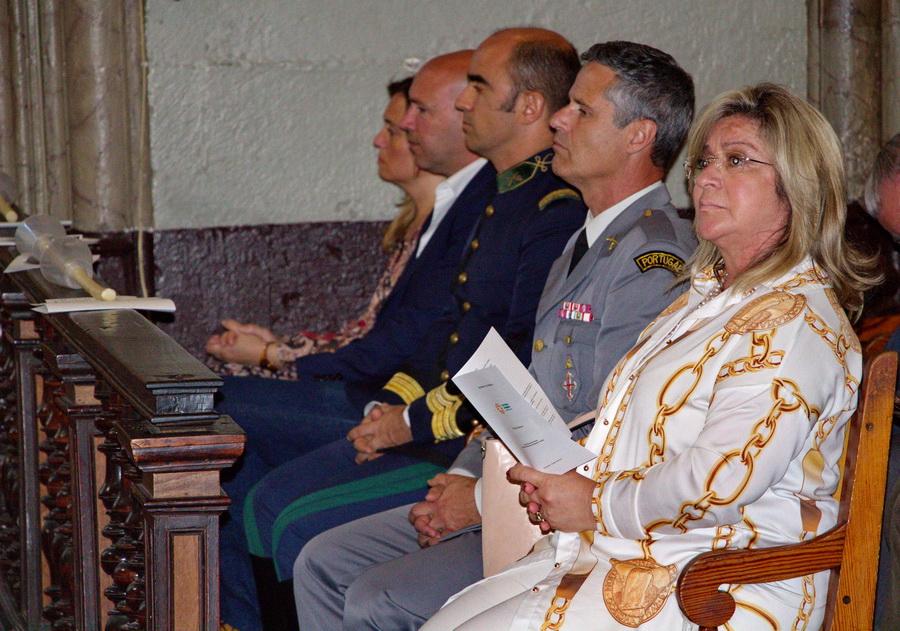 Rita Andrade presente no evento 'Mala da Partilha'