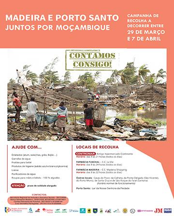 Campanha 'Juntos Por Moçambique'