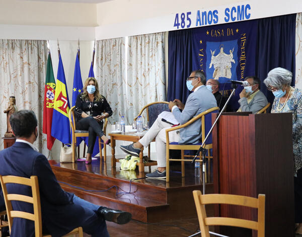 """""""Santa Casa da Misericórdia da Calheta é uma instituição histórica"""", destaca Augusta Aguiar"""