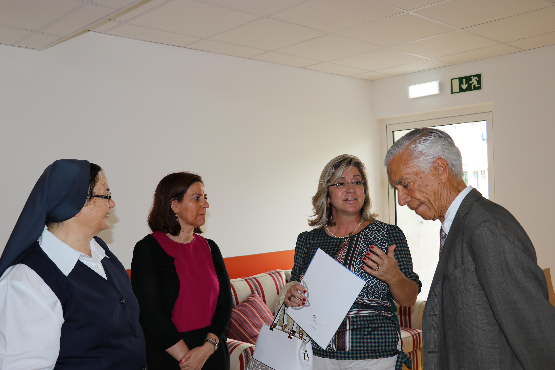 Rita Andrade enaltece trabalho desenvolvido pela Fundação Hospício da Princesa Maria Dona Amélia