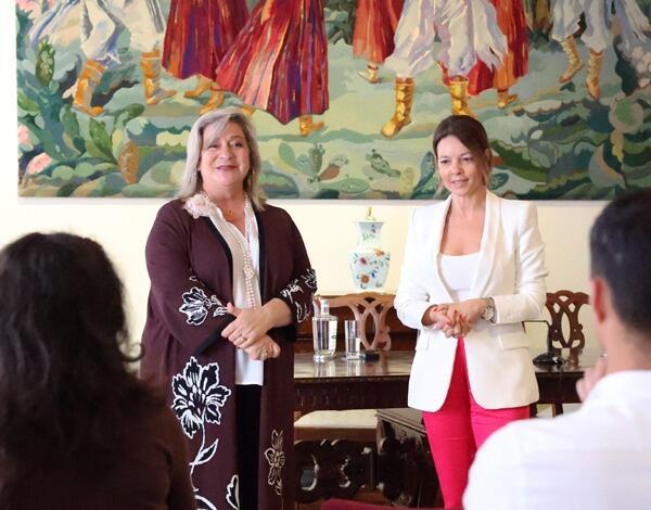 Augusta Aguiar destaca trabalho desenvolvido pelo Centro Social e Paroquial de Santa Cecília