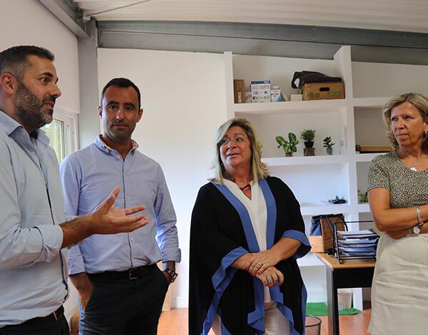 Rita Andrade visitou projeto inovador na região
