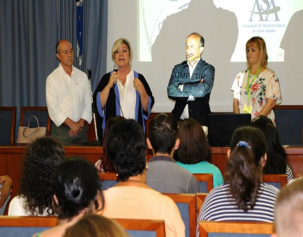Rita Andrade sensibiliza formandos a aproveitarem ao máximo