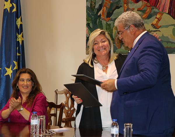 Rita Andrade sublinha importância  de Protocolo de cedência de enfermeiros para os lares