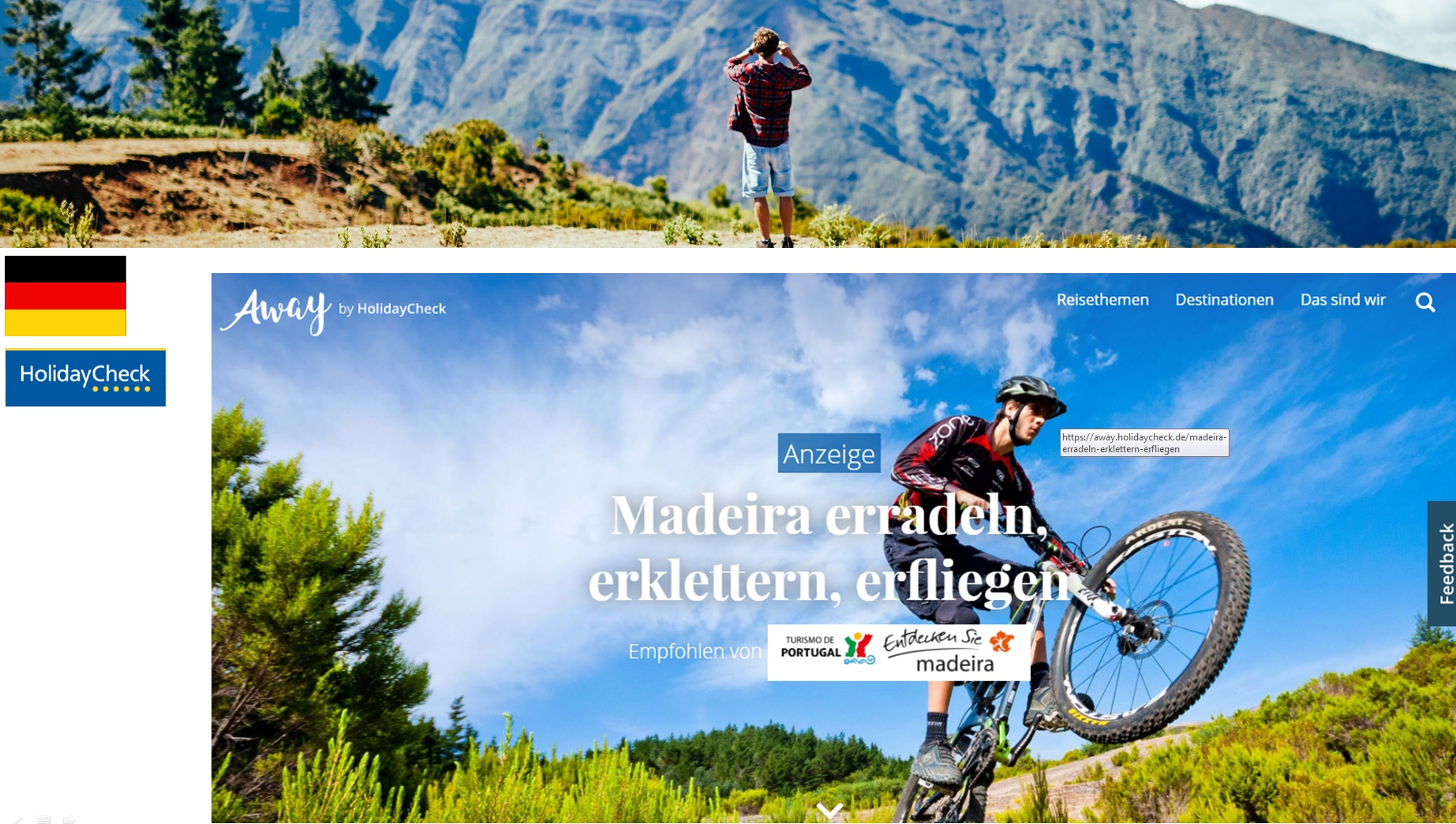 Promoção da Madeira em alta e em várias frentes