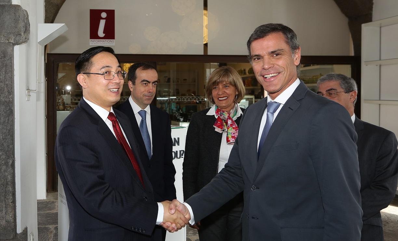 Região quer reforçar ligações com a China