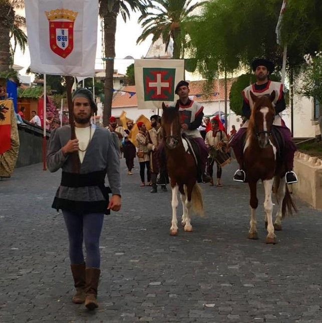 Porto Santo recua no tempo para receber Colombo