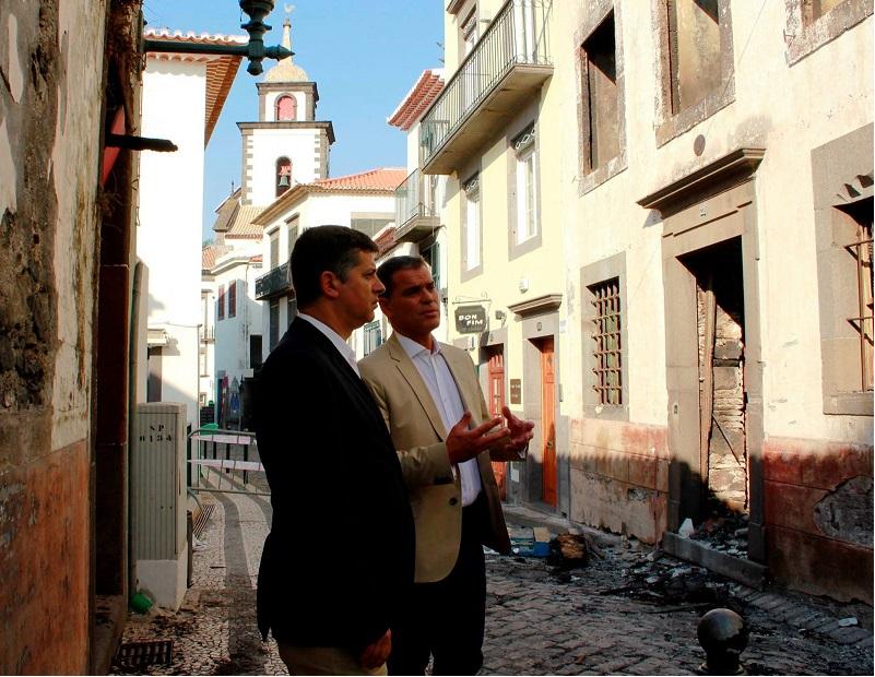 Jesus e Caldeira Cabral procuram soluções para a recuperação económica da Madeira