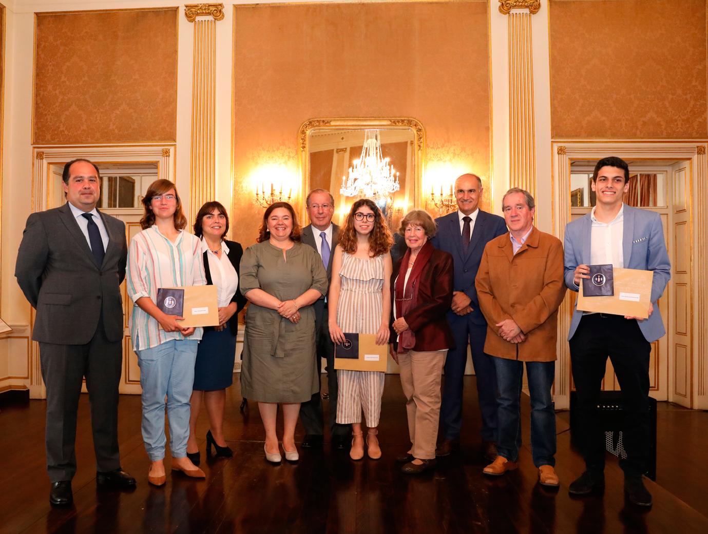 Alunos premiados no Dia de Portugal, de Camões e das Comunidades Portuguesas