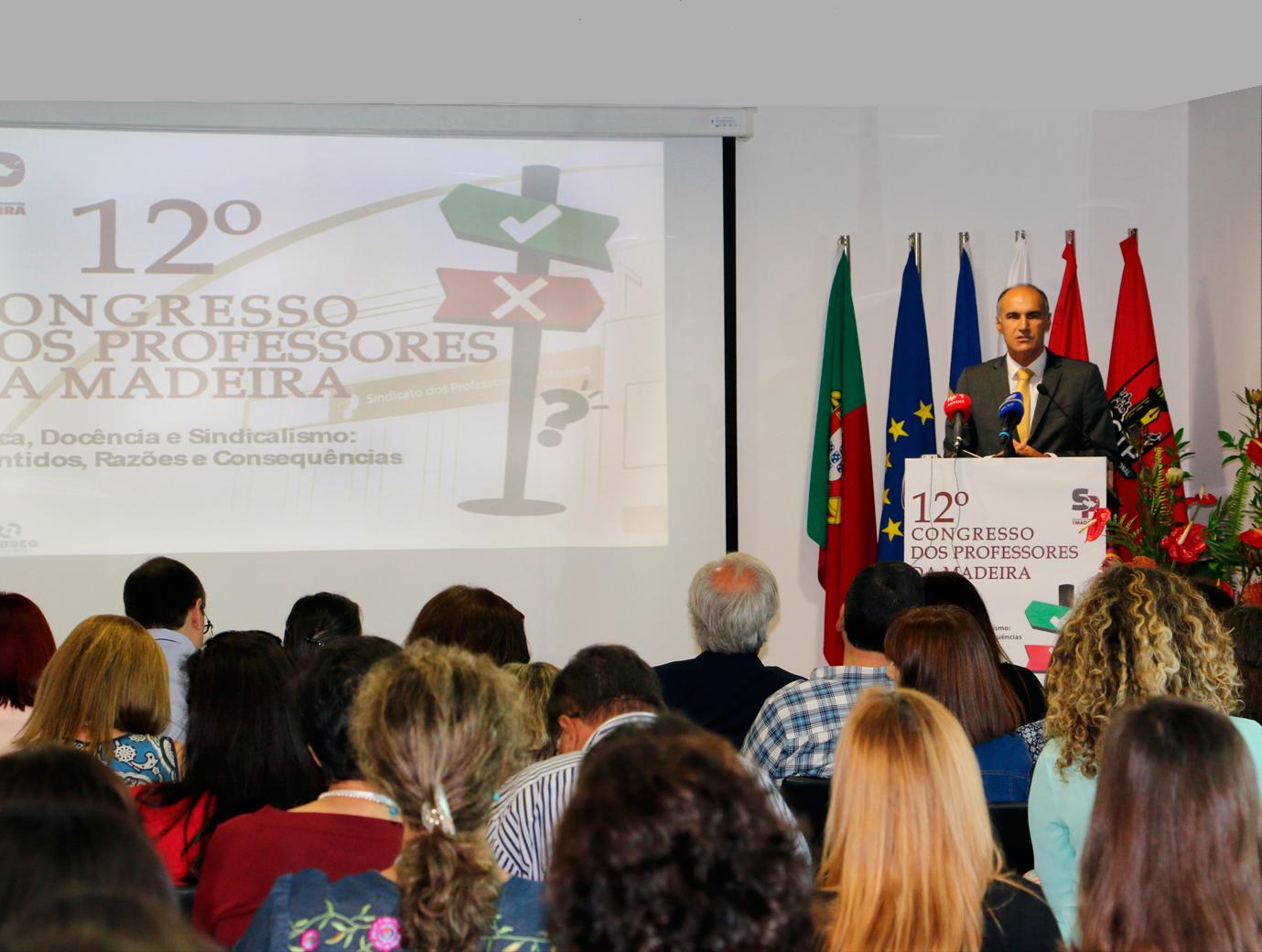 Jorge Carvalho anuncia para junho abertura do concurso de professores
