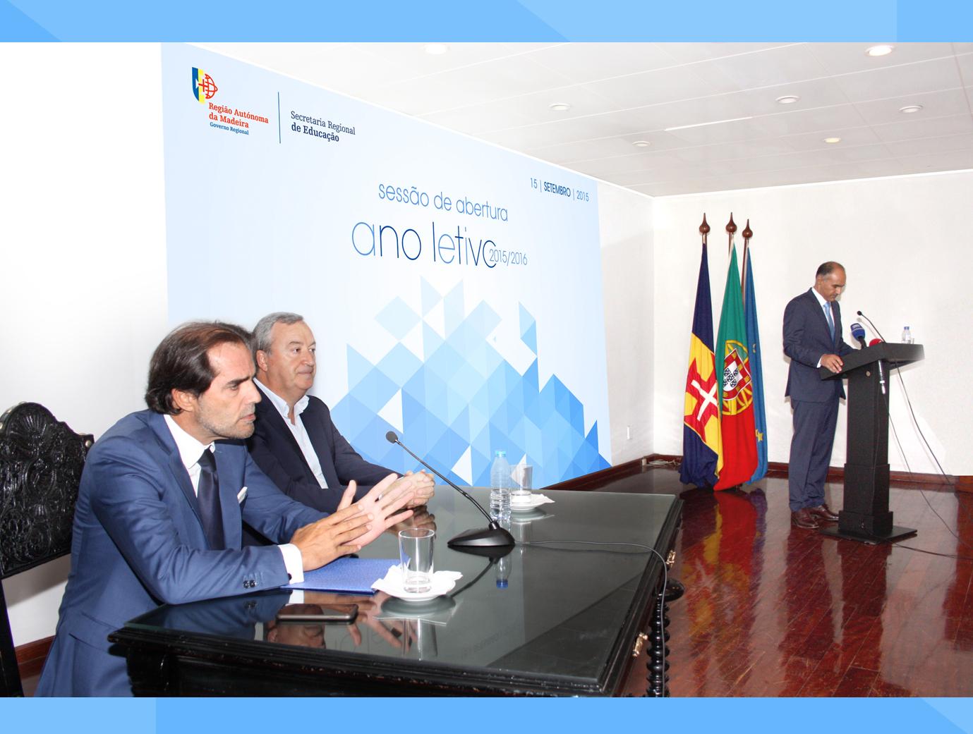 Sessão de Abertura do Ano Letivo 2015-2016