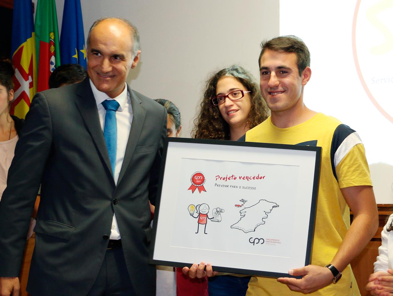 """""""Prevenir para o sucesso"""" premiado com 50 mil euros"""