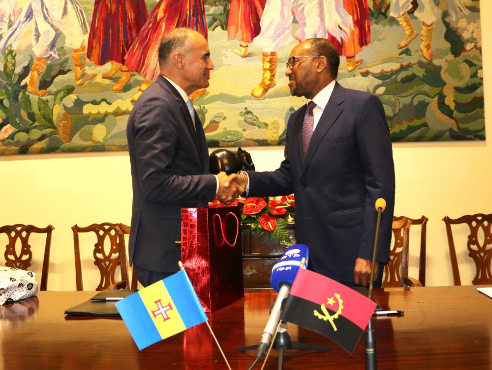 Relações entre Madeira e Angola reforçadas com protocolo