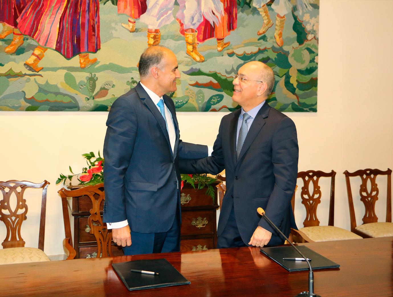Madeira e Brasil  reforçam relações
