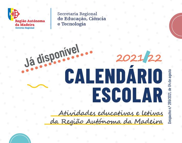 Calendário escolar publicado
