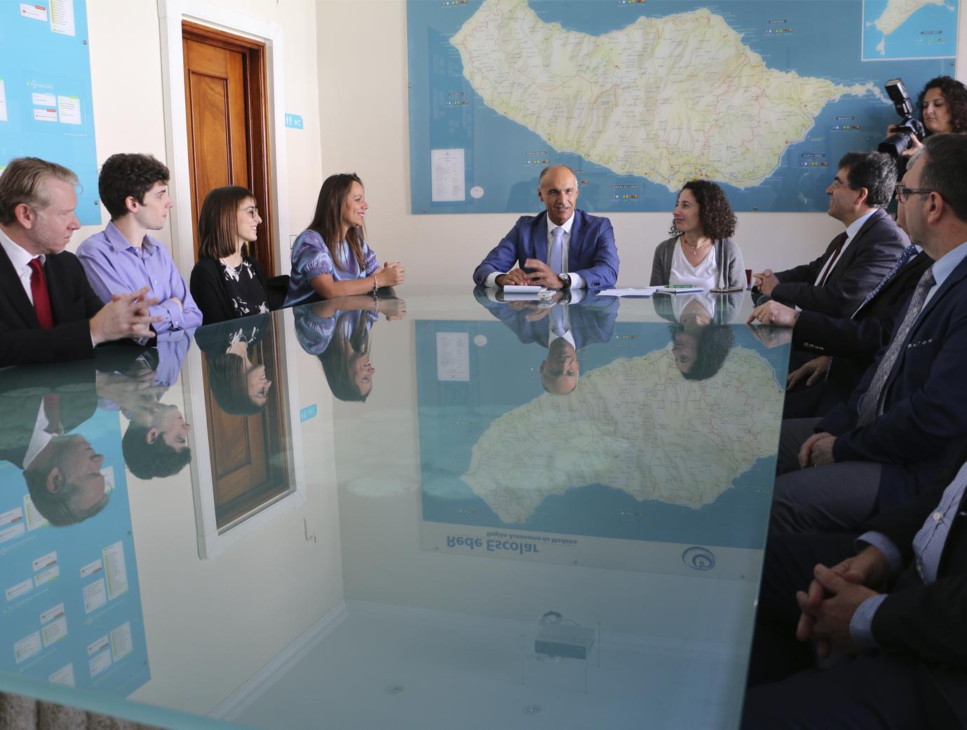 Jorge Carvalho reúne com Conselheiros