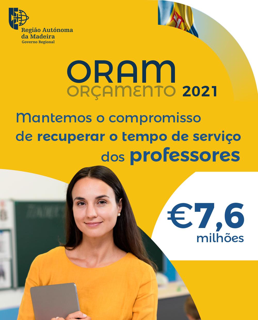 Orçamento da RAM 2021
