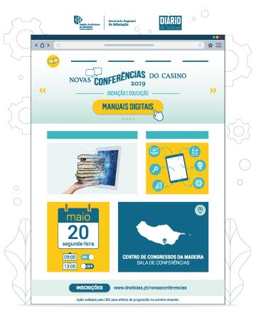 Novas Conferências do Casino em 2019 – 'Inovação e Educação' – 20 de maio