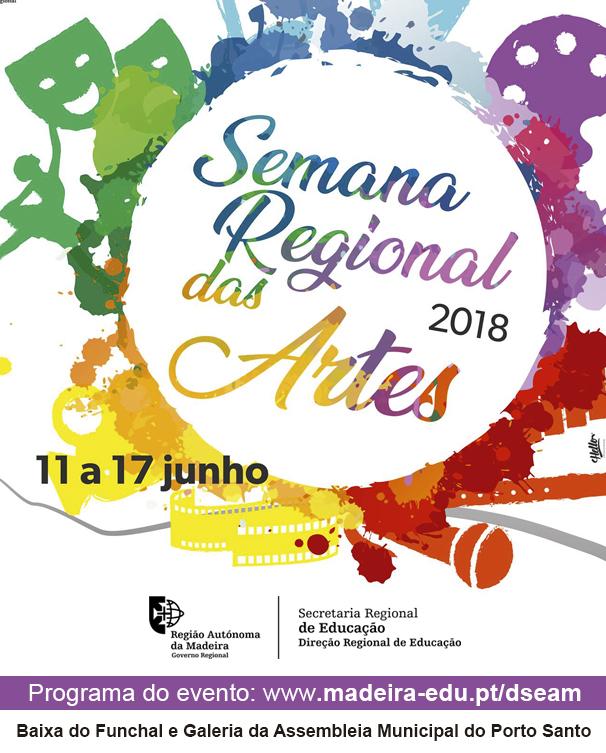 Semana Regional das Artes 2018