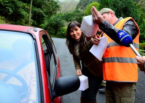 Polícia Florestal faz ação de sensibilização contra corte ilegal de árvores na Madeira