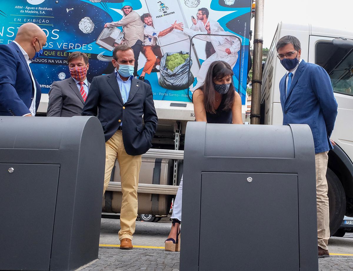 ARM já investiu meio milhão em ilhas ecológicas