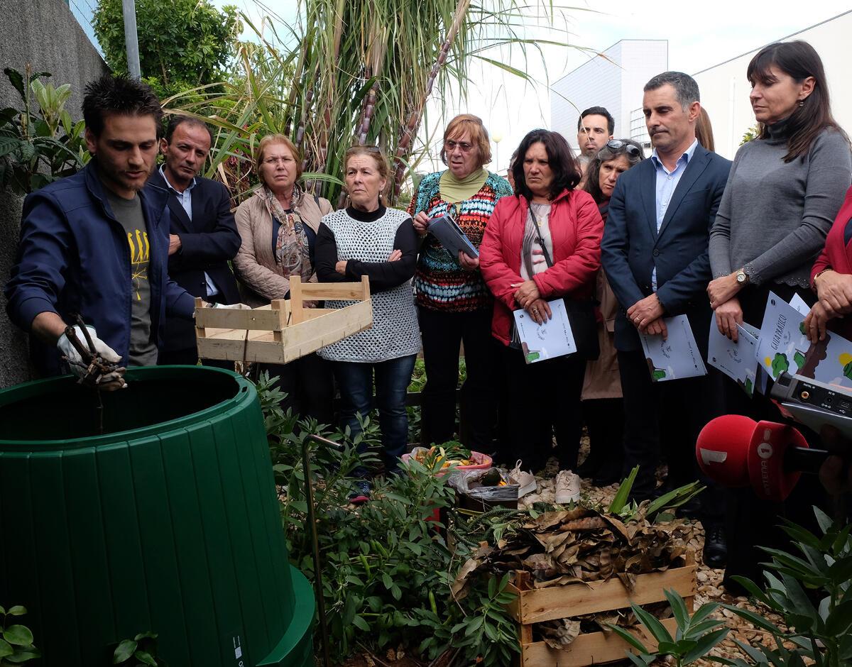 Águas e Resíduos da Madeira já ofereceu 1200 compostores