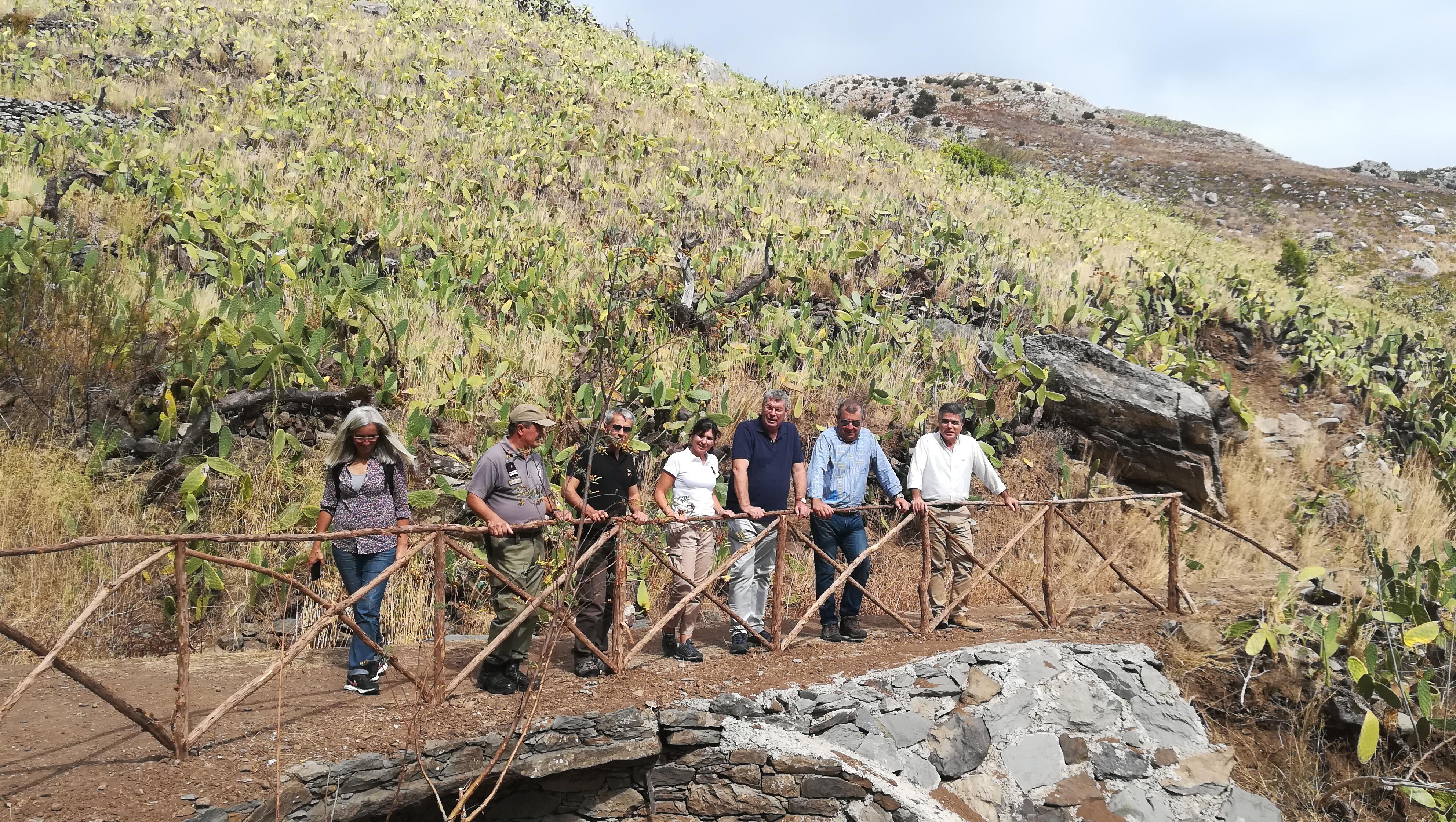 Abertura do Percurso Pedestre Recomendado da Levada do Pico Castelo, no Porto Santo
