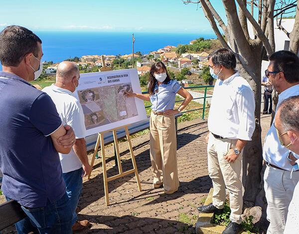 Governo constrói novo reservatório de rega nos Canhas para apoio a 380 regantes