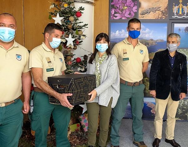 Susana Prada oferece cabazes de Natal