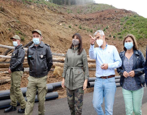 """Rede hídrica será """"determinante"""" em caso de incêndio"""