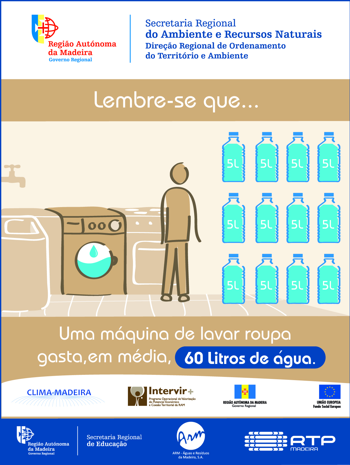A água que desperdiça não chega a quem precisa