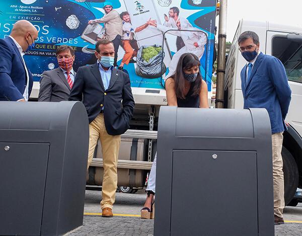 ARM reforça pontos de recolha de resíduos com 1770 novos contentores
