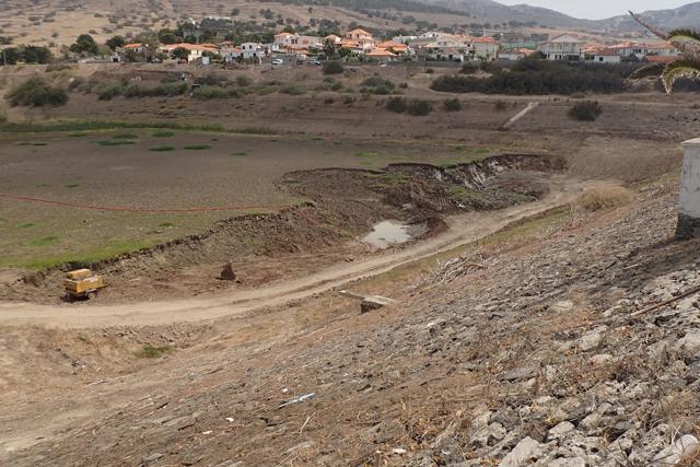 Porto Santo: Barragem do Tanque terá capacidade para reter mais 5 milhões de litros de água