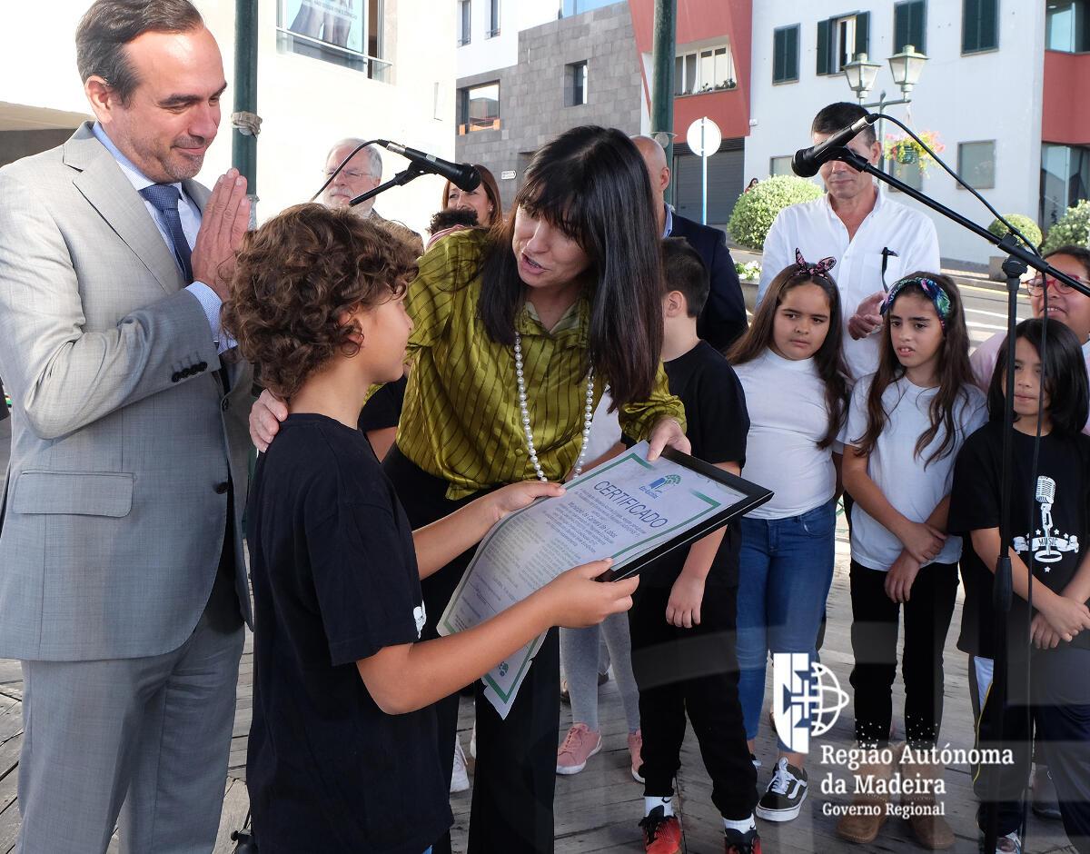 Região tem a maior taxa de implementação do programa Eco-Escolas