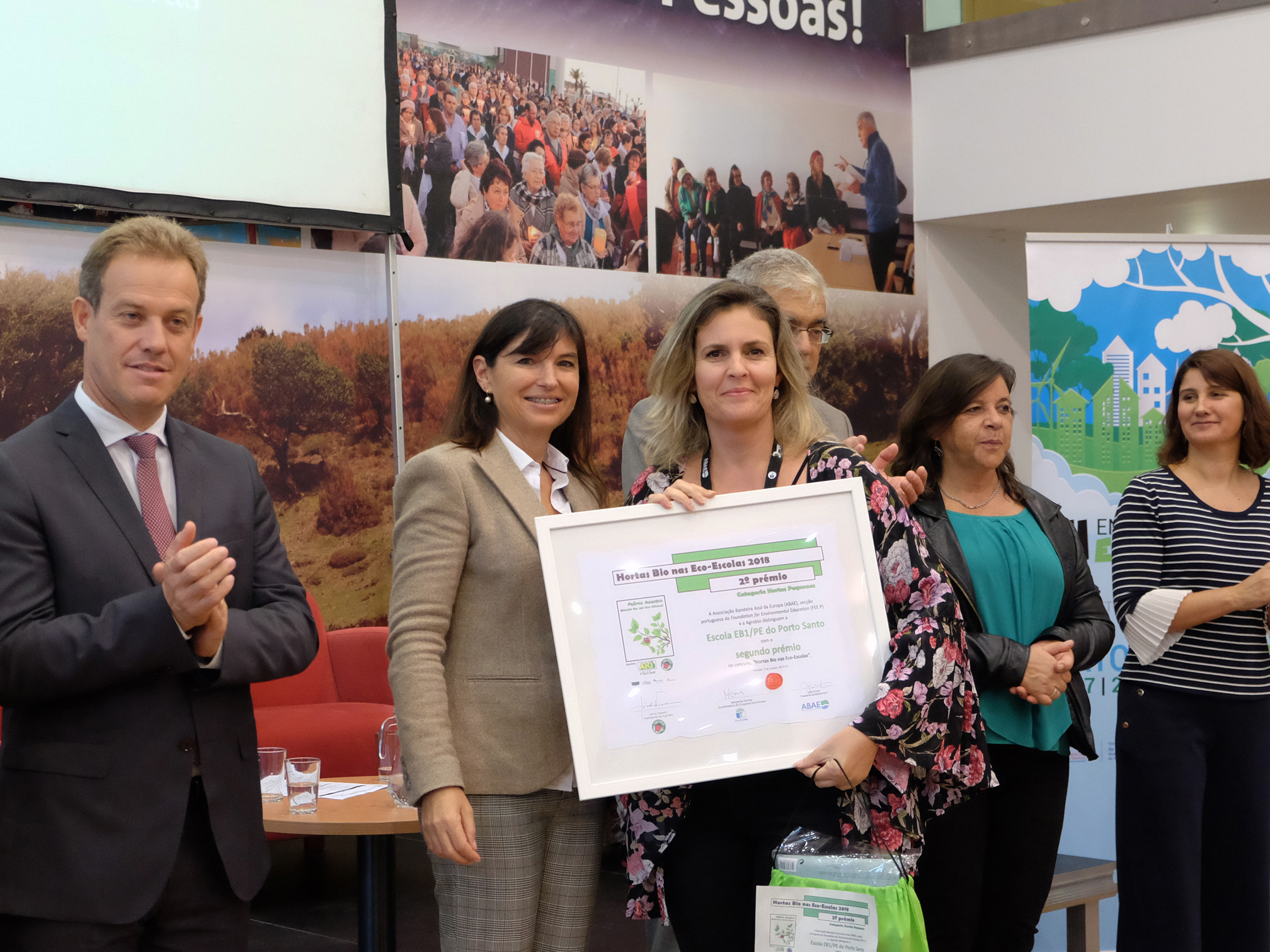 Madeira líder nacional Eco-Escolas