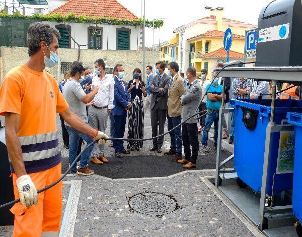 Governo Regional pioneiro na instalação de ilhas ecológicas