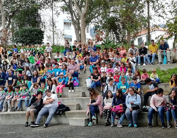 Festa nos jardins de Santa Luzia reuniu 250 alunos que participaram no Concurso Escolar GEA – Terra Mãe