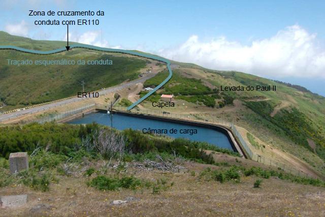 """""""Ampliação do Aproveitamento Hidroeléctrico da Calheta"""""""