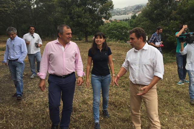 Governo cria espaço verde em Santo António