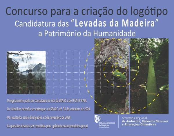 Concurso para Criação do Logótipo da Candidatura das Levadas da Madeira a Bem Patrimonial da UNESCO