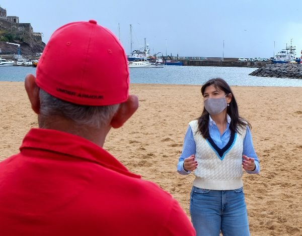 Praia de Machico - de interdita a excelente