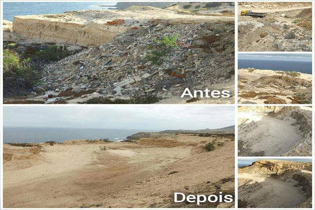 Governo já retirou 168 toneladas de detritos do vazadouro no Porto Santo