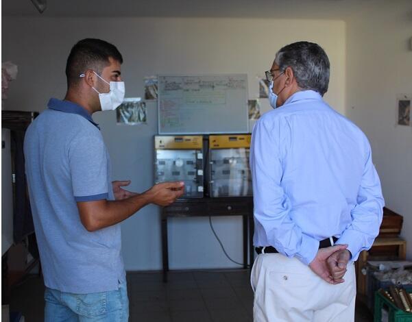 Secretário visitou maior produtor de Abelhas Rainha da Madeira