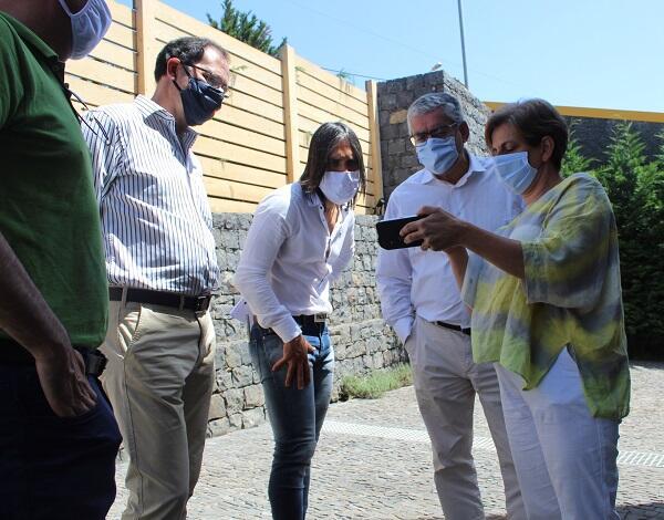 Humberto Vasconcelos visita projeto de agricultura biológica em Gaula