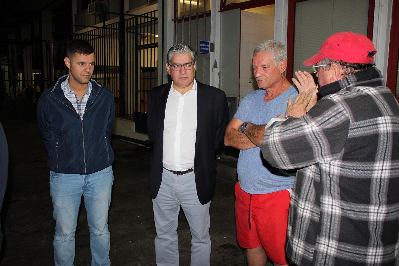 Humberto Vasconcelos visita lota e entreposto