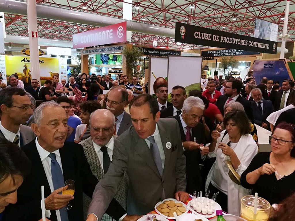 Presidente da República rendido aos produtos regionais