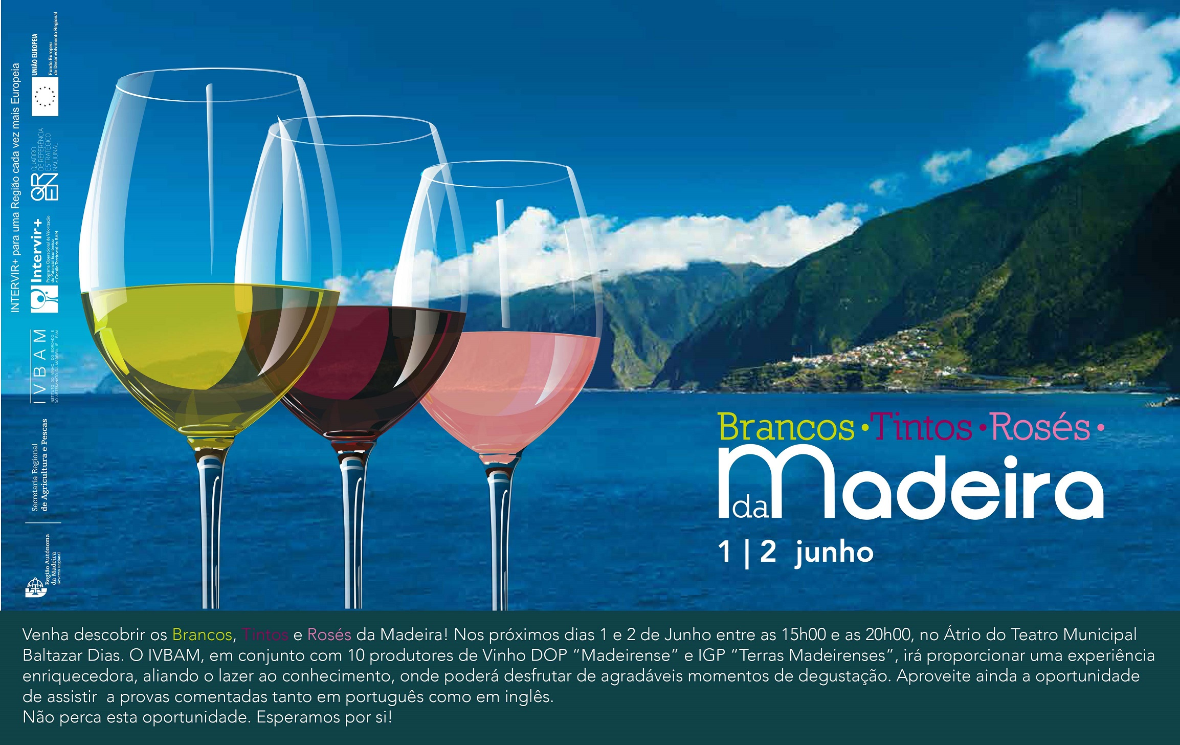 Ação promocional de vinhos