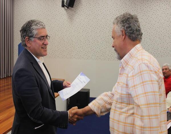 Entrega de certificados Escola Agrícola da Madeira
