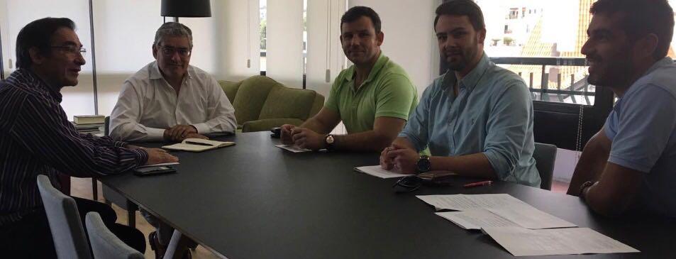 Humberto Vasconcelos recebeu Associação de Apicultores