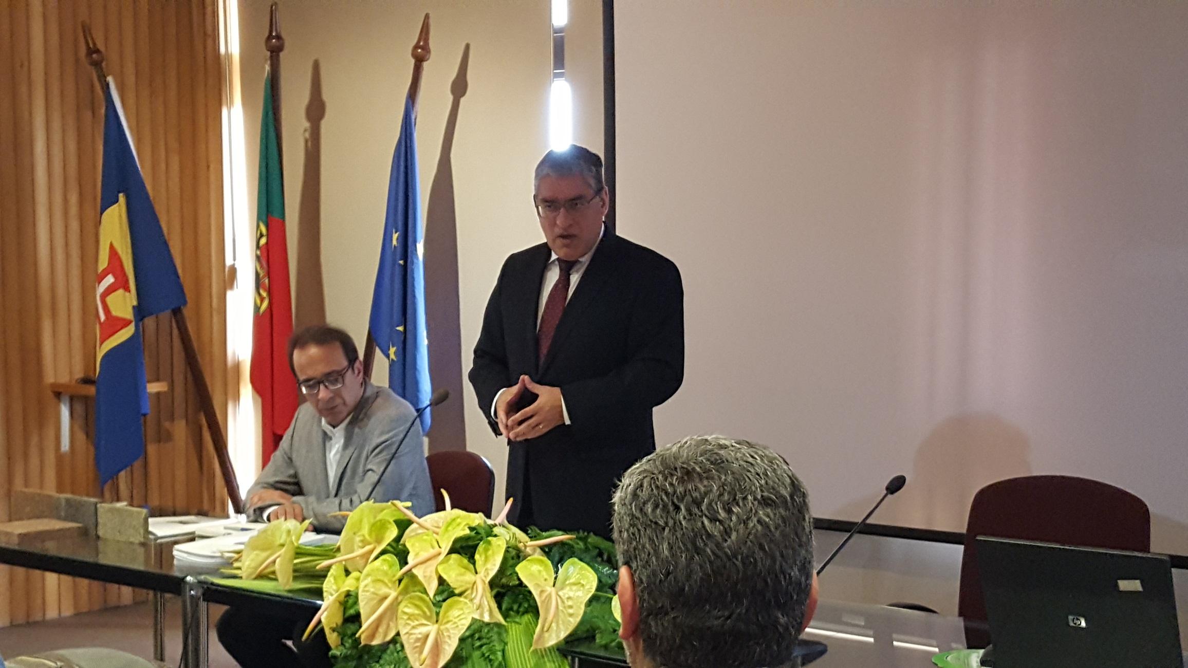 1ª reunião da Comissão Técnica do Pão Tradicional da Madeira